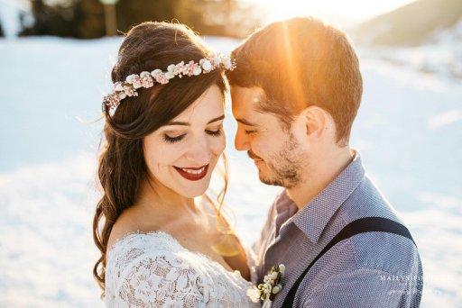 maquillage de mariage couple
