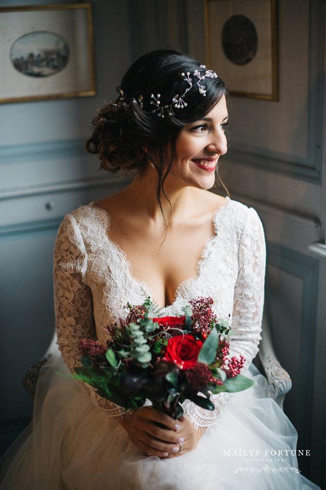 makeup wedding naturel